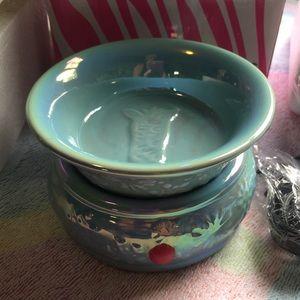 Pink Zebra blue simmer pot new